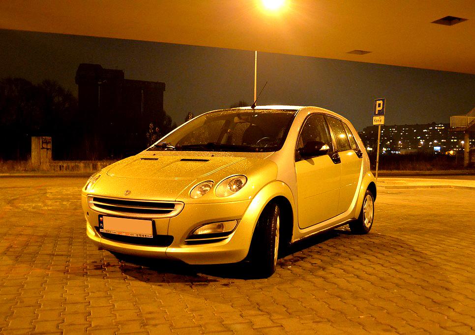Smart ForFour – samochód z sensem?