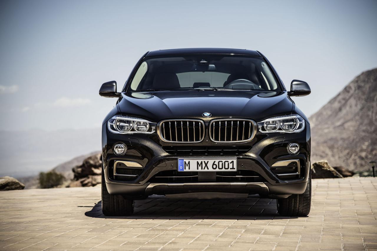 BMW X6 przechodzi facelifting
