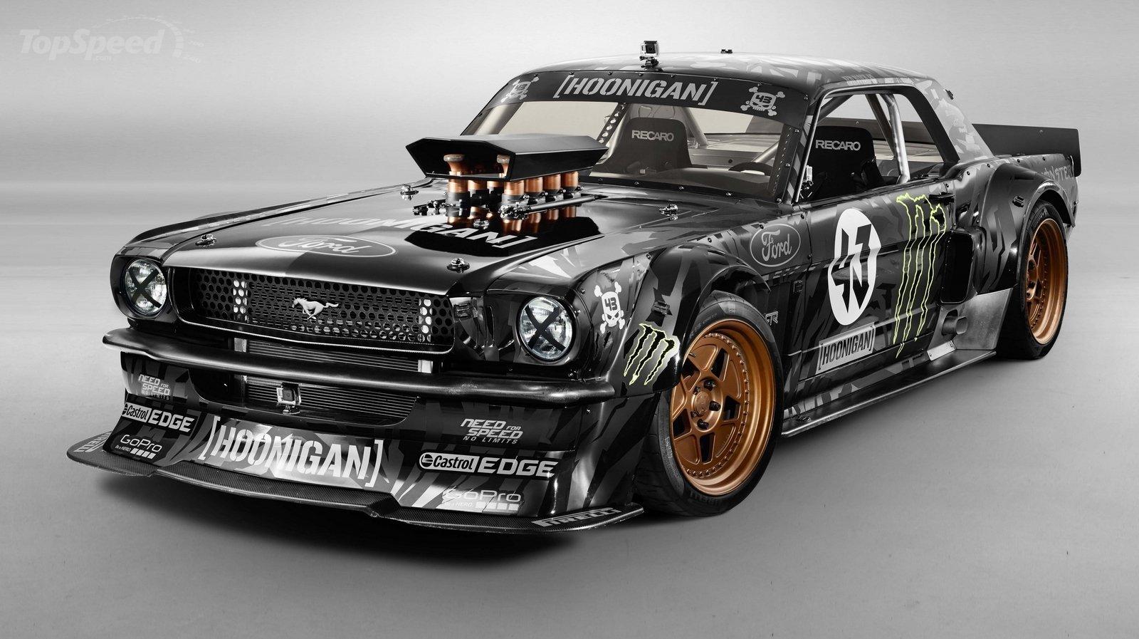 Ford Mustang Gymkhana 7 (aktualizacja)