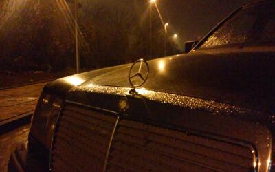 Pierwsze przygody z Mercedesem