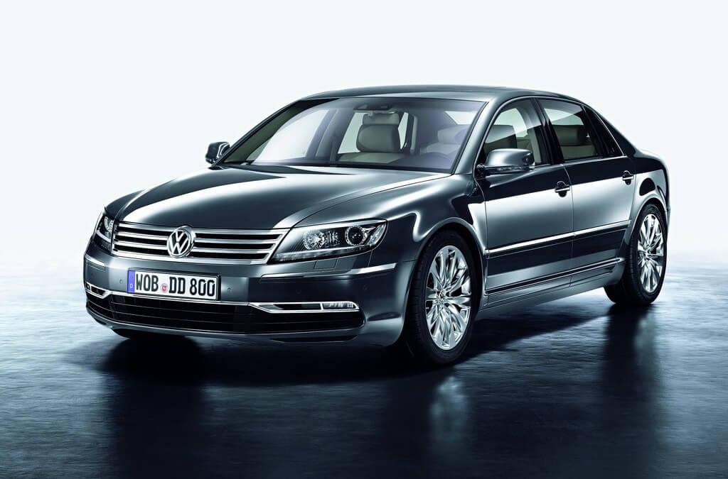 Volkswagen Phaeton. Koniec produkcji