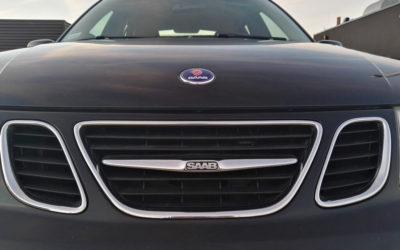 Mój nowy przyjaciel Saab